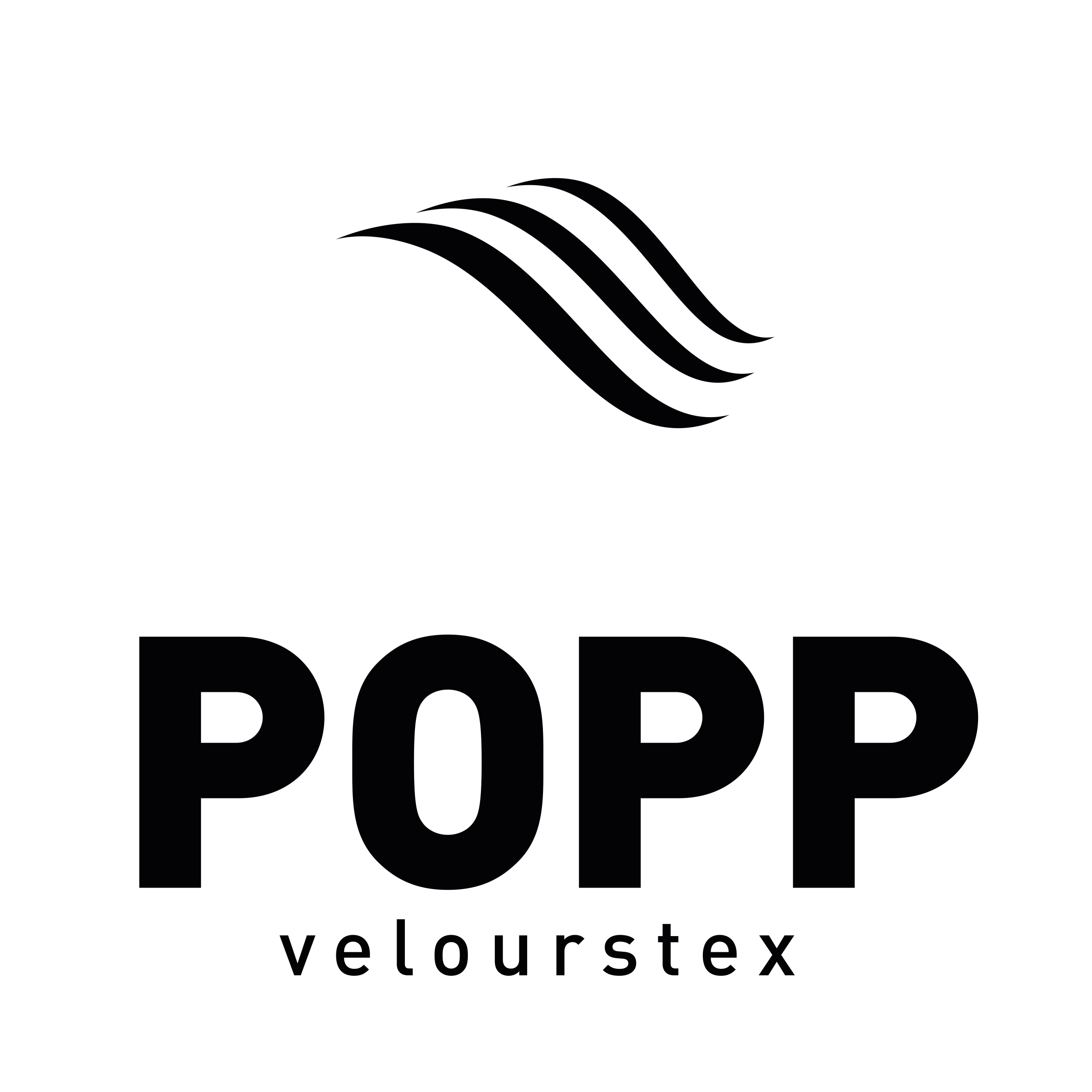 POPP Velourstex Logo